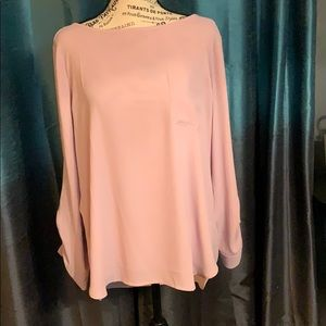 Loft long sleeve blouse size L